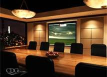 AUDIO VISUAL SYSTEM IN A CONFERENCE ROOM